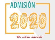 Reanudación Proceso de Admisión 2020-2021